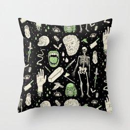 b9d9fe6ee32 Whole Lotta Horror  BLK ed. Throw Pillow