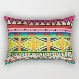 abstractly; Rectangular Pillow