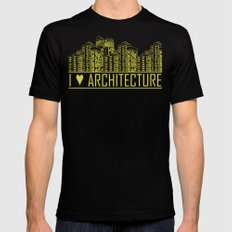 Architecture MEDIUM Mens Fitted Tee Black