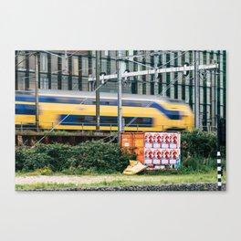 Commuter Train Canvas Print