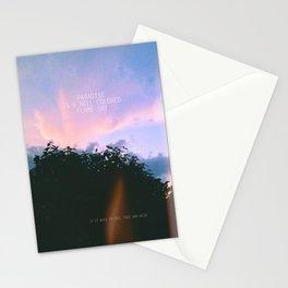 Paradise. Stationery Cards