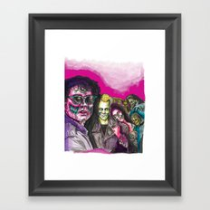 The Lost Zombie Boys Framed Art Print