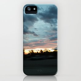 High Desert sunrise iPhone Case