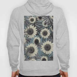 Tropical Sunflower Jungle Leaves Pattern #2 #tropical #decor #art #society6 Hoody