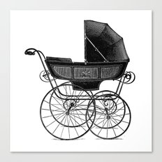 Baby carriage Canvas Print