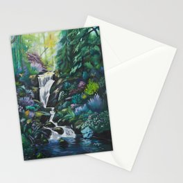 Waterfall by MRT Stationery Cards