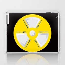 Polluted - Dinner Time Laptop & iPad Skin