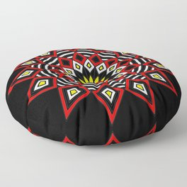 Stars Up to the Sky | Mandhala | Mother Star Floor Pillow