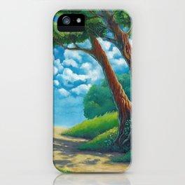 Sunny way iPhone Case