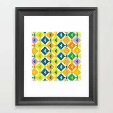 BP 60 Fish Geo Framed Art Print
