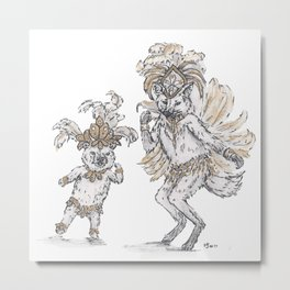 Tiny Dancer - Samba Metal Print