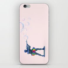 Shoot bubbles, not bullets iPhone & iPod Skin