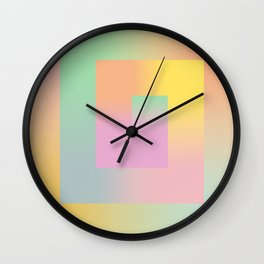 The Gradient Wall Clock