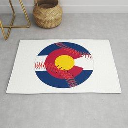 Colorado Flag Baseball Rug