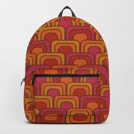 Geometric Retro Pattern Backpack
