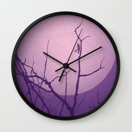 Grasshopper Moon Wall Clock