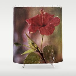 Flower Art I (two parts edition) Shower Curtain