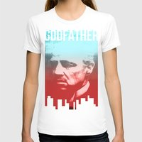 godfather T-shirts featuring GODFATHER - Do I have your Loyalty? by Bright Enough💡