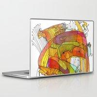 glee Laptop & iPad Skins featuring Glee by Ingrid Padilla