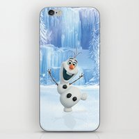 olaf iPhone & iPod Skins featuring OLAF by Electra