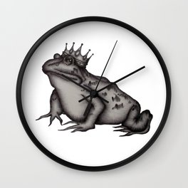 The Frog Prince Wall Clock