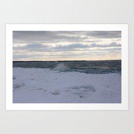 Gelatinous Wave Art Print