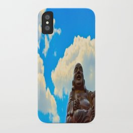 Happy Buddha on a Beautiful Day iPhone Case