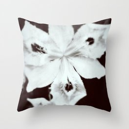 Ghostly Gardens The Specter Flower Throw Pillow