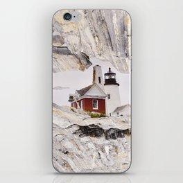 Lighthouse reflection iPhone Skin