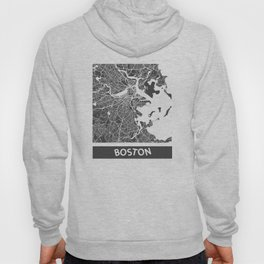 Boston map Hoody