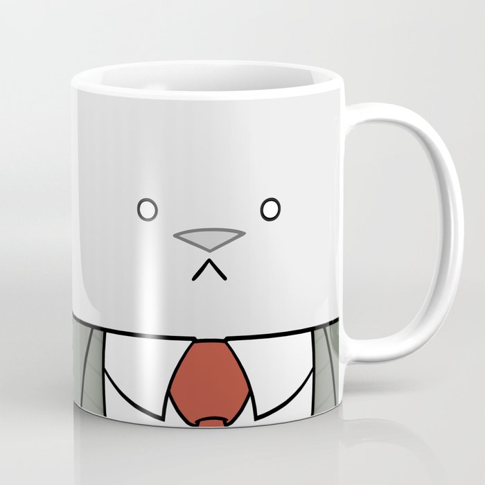 Business Cat Cube Coffee Mug