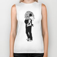 home sweet home Biker Tanks featuring home sweet home 01 by Tom Kitchen