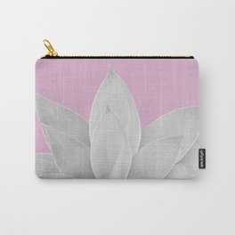 Pink Lavender Agave #1 #tropical #decor #art #society6 Carry-All Pouch