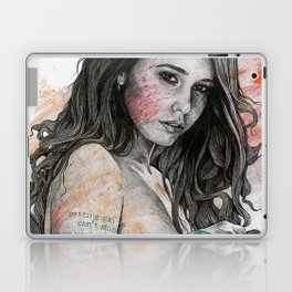 You Lied (nude girl with mandala tattoos) Laptop & iPad Skin