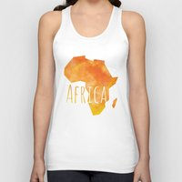 africa Tank Tops featuring Africa by Stephanie Wittenburg