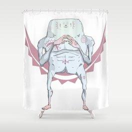 BadJuju Shower Curtain