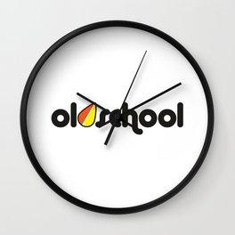 OLDSCHOOL v2 HQvector Wall Clock