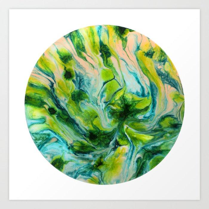 Plasmodesma Art Print