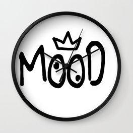 Mood #4 Wall Clock