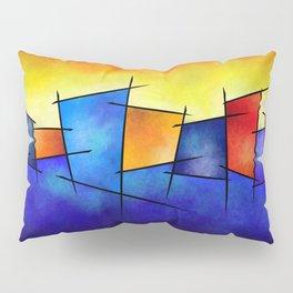 Esseniumos V1 - square abstract Pillow Sham