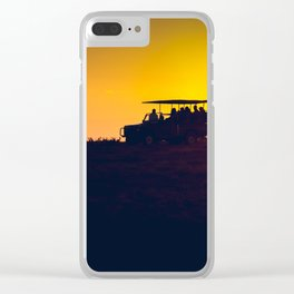 Morning African Safari Clear iPhone Case