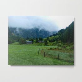 Misty Valley Photography Metal Print