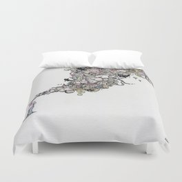 Musings Duvet Cover