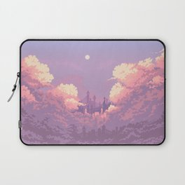 Pastel Castle Laptop Sleeve