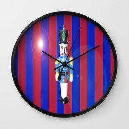Festive Solider Wall Clock