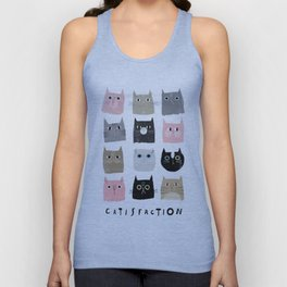 Catisfaction No. 1 Unisex Tank Top