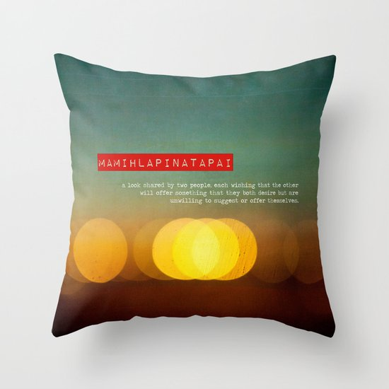 Twitterpatted  Throw Pillow