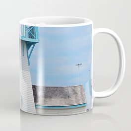 Boarded  Up Lighthouse in Summerside Coffee Mug