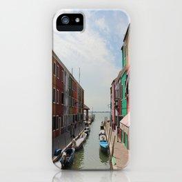 Burano in Venezia iPhone Case