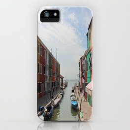 Burano in Venezia iPhone Case